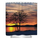 Sunrise Winnipesaukee Shower Curtain