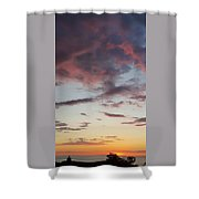 Sunrise With Clouds Il Shower Curtain