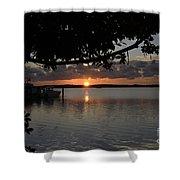 Sunset At Islamorada Shower Curtain