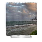 Sunset At Kapaa - Kauai Shower Curtain