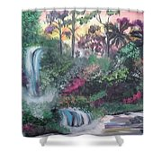 Sunset Falls Shower Curtain