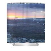 Sunset In Aguadillia Puerto Rico  Shower Curtain