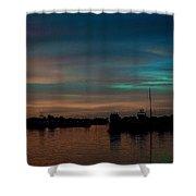 Sunset Pastels Shower Curtain