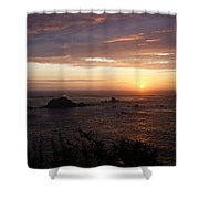 Sunset Watch Shower Curtain