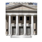 Supreme Courthouse In Tallahassee Florida Shower Curtain
