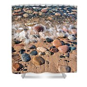Surf And Stones Shower Curtain