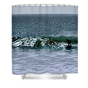 Surfing And Sailing Shower Curtain