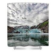 Surprise Glacier Shower Curtain