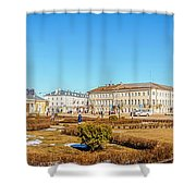 Susanin Square In Kostroma Shower Curtain