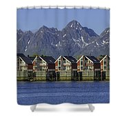 Svolvaer Norway Shower Curtain