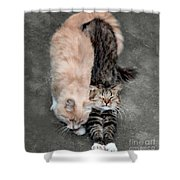 Sweet Couple Shower Curtain