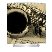 Sweet Sounds Of The Sax Shower Curtain