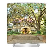 Swiss Avenue Historic Mansion Dallas Texas Shower Curtain
