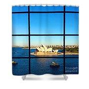 Sydney Opera House Shower Curtain