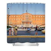 syntagma 'I Shower Curtain