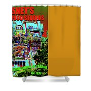 The Passage Of Time Shower Curtain