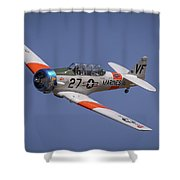 T6 At Reno Air Races Shower Curtain