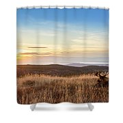 Taking In The Sunset Shower Curtain