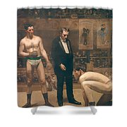 Taking The Count Shower Curtain