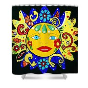 Talavera Sun Shower Curtain