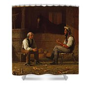 Talking It Over , Enoch Wood Perry  Shower Curtain