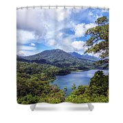 Tamblingan Lake - Bali Shower Curtain