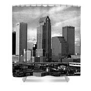 Tampa The Downtown Shower Curtain