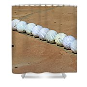 Tee Time Shower Curtain