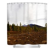 Teide  Nr 11 Shower Curtain