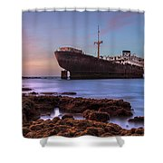 Temple Hall - Lanzarote Shower Curtain