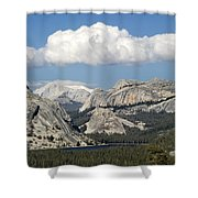 Tenaya Lake From Olmstead Point Shower Curtain