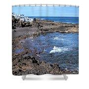 Tenesar - Lanzarote Shower Curtain