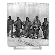 Terra Nova Expedition Shower Curtain