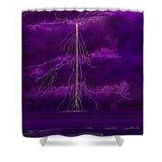 Tesla Shower Curtain