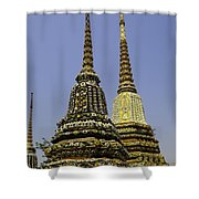 Thailand Architecture Shower Curtain