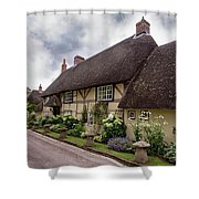 Thatched Cottages Of Hampshire 20 Shower Curtain