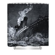 The 46,328 Tons Rms Titanic Of The Shower Curtain