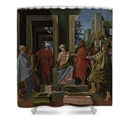 The Adoration Of The Kings Shower Curtain