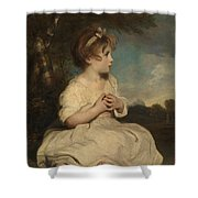 The Age Of Innocence Shower Curtain