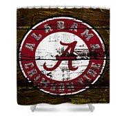 The Alabama Crimson Tide Shower Curtain
