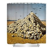 The Apotheosis Of War Shower Curtain