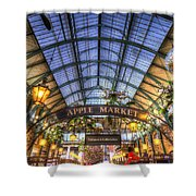 The Apple Market Covent Garden London Shower Curtain