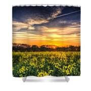 The April Farm Shower Curtain
