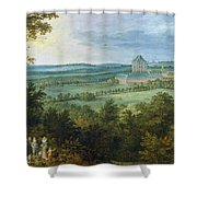 The Archdukes Hunting Shower Curtain
