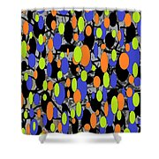 The Arts Of Textile Designs #58 Shower Curtain