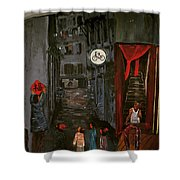 The Backlane Shower Curtain