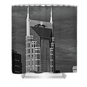 The Batman Building - Nashville Shower Curtain