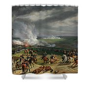 The Battle Of Valmy Shower Curtain