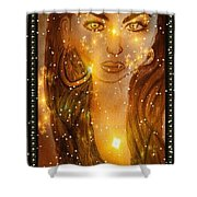 The Beauty  Shower Curtain