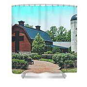 The Billy Graham Library Shower Curtain